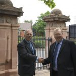 Restoration of Key Hill Cemetery Gates and Piers