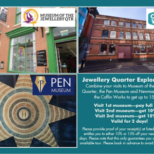 Jewellery Quarter Museums Explorer Pass