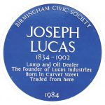 Joseph Lucas Once Remembered now Forgotten?