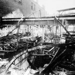 Massive Fire Destroys Canning's Snow Hill Premises in 1918
